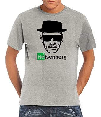 Touchlines Herren  - Heisenberg Walther White T-Shirt, ash, XXXL, B1928-Ash-XXXL