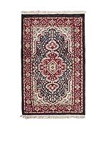 QURAMA Alfombra Taj-Mahal Rojo/Negro/Multicolor