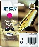 Epson C13T16334010 - 16XL - XL size - magenta - original - ink cartridge - for WorkForce WF-2010, WF-2510, WF-2520, WF-2530, WF-2540, WF-2630, WF-2650, WF-2660
