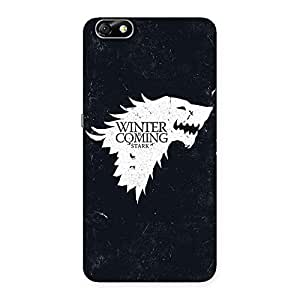 Impressive Games Of Winter Grey Back Case Cover for Honor 4X