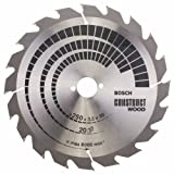 Bosch 2608641774 250 x 3.2 x 30 mm Construction Wood Mitre Table Circular Saw