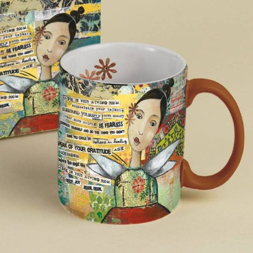 Artistic 14oz. LANG Coffee Mug - Titled: KELLY RAE ROBERTS featuring her very own artwork...