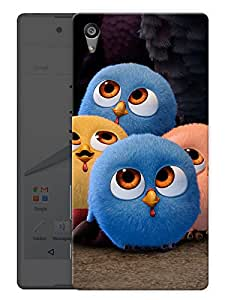 """Humor Gang Cute Little Birds Printed Designer Mobile Back Cover For """"Sony Xperia Z5"""" (3D, Matte, Premium Quality Snap On Case)"""