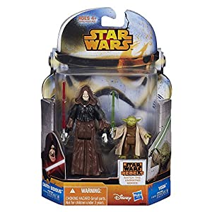 Star Wars Mission Series Action Figures Wave 4 - Yoda & Darth Sidious