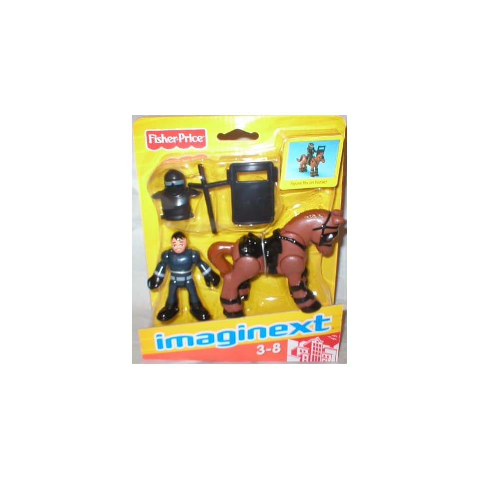 Imaginext Police Officer with Horse