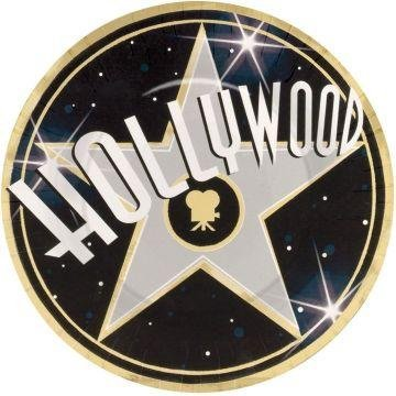 "Hollywood 10"" Metallic Dinner Plates (8 count)"