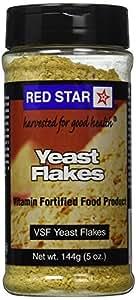 Red Star Nutritional Yeast - VSF Mini Flake -- 5 oz Each