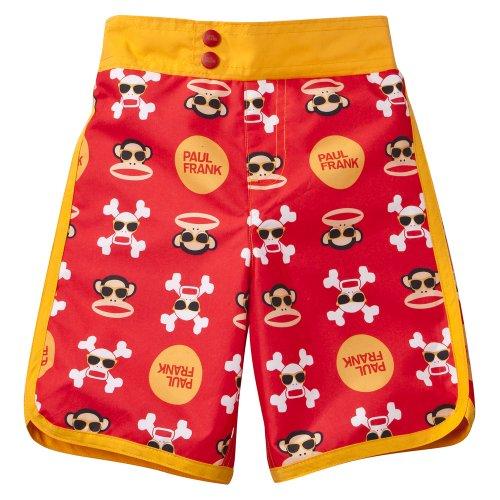58bdffa97d Toddler Boys  Swimwear Paul Frank® for Target® Red Skull Swim Trunks 2T