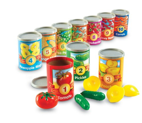Learning Resources One To Ten Counting Cans front-259709