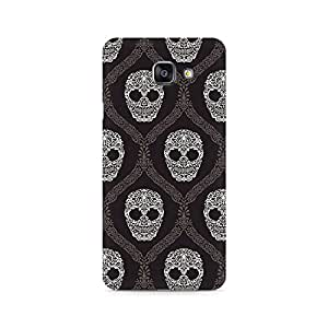Ebby Floral Skull Premium Printed Case For Samsung A510 2016 Version