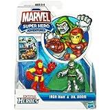Super Hero Adventure 2 Pack Iron Man & Dr. Doom