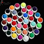 36 Couleurs Nail Art Gel UV Pure Colo...