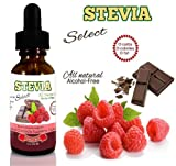 Stevia Drops Chocolate Raspberry-1 Oz Stevia Select-Liquid Stevia-Sugar Free-Natural Sweetener From the Sweet Leaf-Natural Sweetener-Perfect For Any Weight Loss Diet-Best Liquid Stevia Guaranteed!