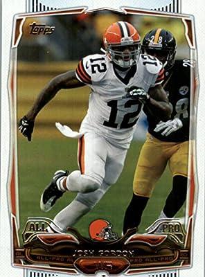 Josh Gordon - Cleveland Browns - 2014 Topps Football Card #220