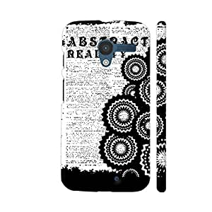 Colorpur Abstract Reality Designer Mobile Phone Case Back Cover For Motorola Moto X1 | Artist: Urvashi