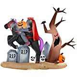 Gemmy Halloween Inflatable Headless Horsemen Outdoor Yard Decoration #64974