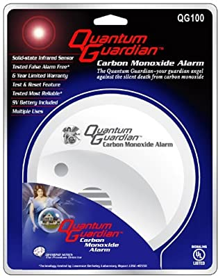 Quantum Guardian Carbon Monoxide (CO) Alarm Detector (2 Pack) from Quantum Guardian