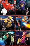 Marvel(マーベル) ベイマックス (Big Hero 6/ビッグヒーロー6) Baymax ポスター