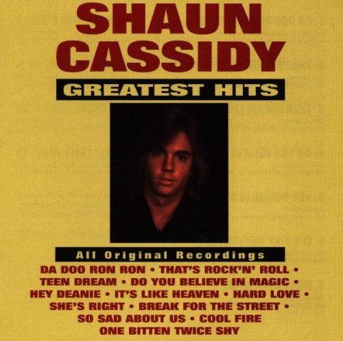 SHAUN CASSIDY - Shaun Cassidy: Greatest Hits - Zortam Music