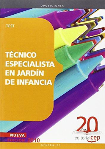 Técnico Especialista en Jardín de Infancia. Test (Colección 44)
