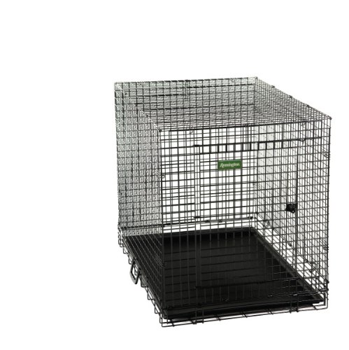 picture Remington Wire Kennel, Large, 36-Inch L by 24-Inch W by 26.5-Inch H, Black