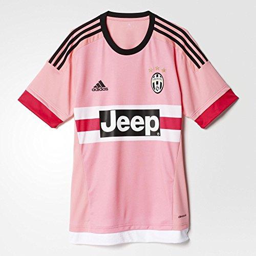 adidas Men s Juventus Home Soccer Jersey (Large) Pink  d3a335229