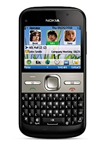 Nokia E5-00 Unlocked GSM Phone with Easy E-mail Setup, IM, QWERTY, 5 MP Camera, Ovi Store with Apps, and Free Ovi Maps Navigation (Black)