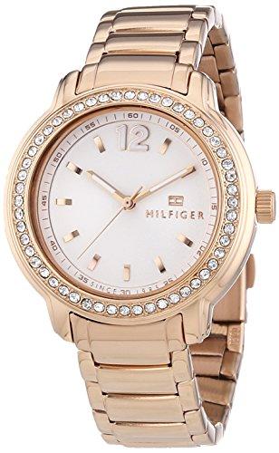 Tommy Hilfiger Watches Damen-Armbanduhr CALLIE Analog Quarz Edelstahl beschichtet 1781468 thumbnail