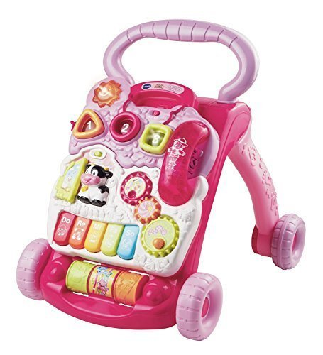 VTech Sit-to-Stand Learning Walker - Pink - 1