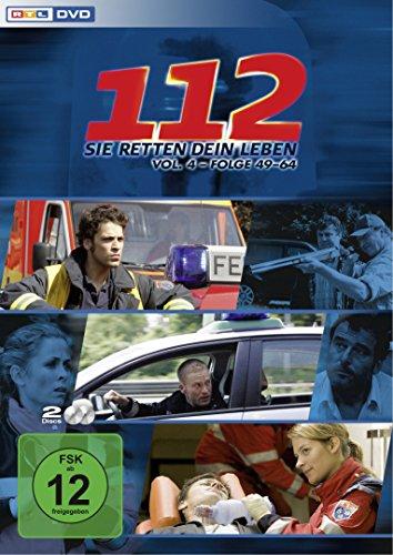 112 - Sie retten dein Leben, Vol. 4, Folge 49-64 [2 DVDs]