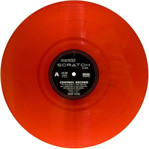 Rane Serato Scratch Live - Second Edition Control Vinyl Record Red