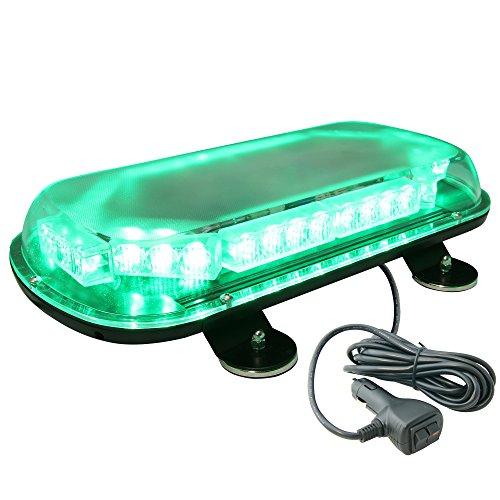 Lamphus Solarblast 34W Led Emergency Vehicle Warning Strobe Mini Light Bars ( Other Color Available ) - Green