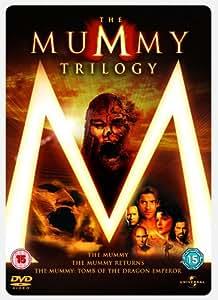The Mummy 1, 2 & 3 Steelbook Box Set [DVD]