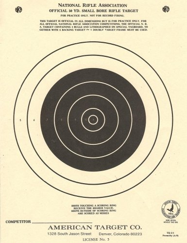 100 tq3 1 paper shooting targets silhouette 7 quot x9 25 quot made in usa tan