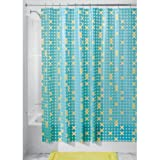 InterDesign Tic Shower Curtain + FREE Matching Rings