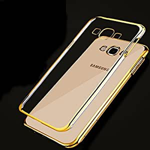 Wellpoint Back Cover For Samsung Galaxy A5 (Gold Edge Case) Rubber Case
