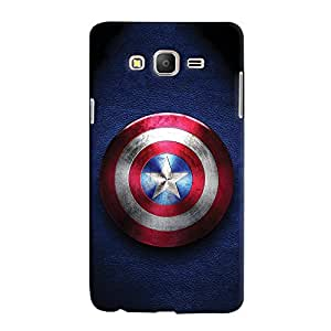 ColourCrust Samsung Galaxy ON7 Mobile Phone Back Cover With Captain America - Durable Matte Finish Hard Plastic Slim Case