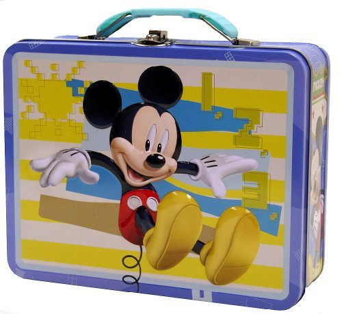 Mickey Mouse Tin Box Carry All (The Tin Box Co compare prices)