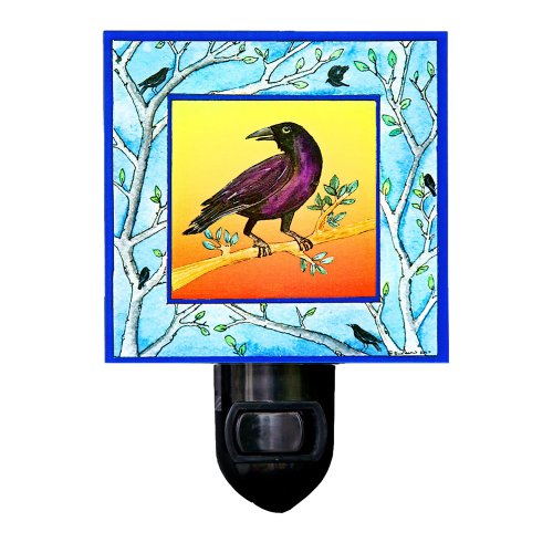 Crow Night Light