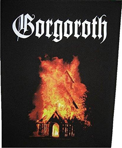 GORGOROTH BACKPATCH RÜCKENAUFNÄHER # 1 BURNING CHURCH