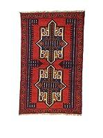 L'Eden del Tappeto Alfombra Beluchistan Rojo / Multicolor 86 x 138 cm
