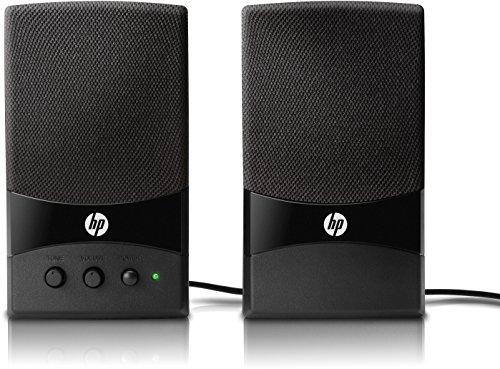 HP-GL313AA-Mulitmedia-Lautsprecher-Freier-USB-Anschluss-11-oder-20-Frequenzgang-60-Hz-18-KHz-schwarz