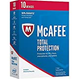 McAfee MTP17ESM0RAA Total Protection 2017 10 Devices