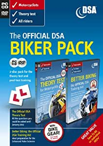 The Official DSA Biker Pack - Theory Test CD-ROM and Better Biking DVD (2011 edition)
