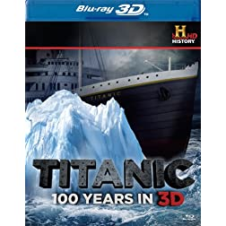 Titanic 3-D (History Channel) [Blu-ray]