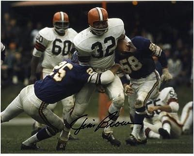 "Jim Brown Cleveland Browns Autographed 8"" x 10"" vs Minnesota Vikings Photograph - Fanatics Authentic Certified"