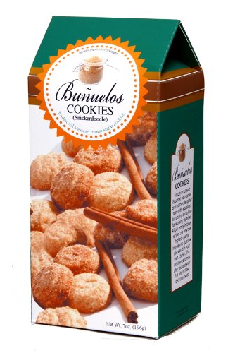 Too Good Gourmet Traditional Latin Cookies, Banuelos Snickerdoodle, 7-Ounce (Pack of 4)