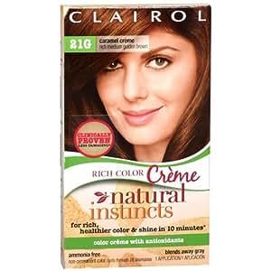 Clairol Natural Instincts Rich Color Creme, Medium Golden Brown 21G 1 ea