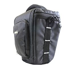 Torkia TD-4900 Professional DSLR Camera Case, Compatible with Selected Nikon & Canon Models