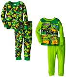 Teenage Mutant Ninja Turtles Little Boys Team Turtle 4-Piece Pajama Set